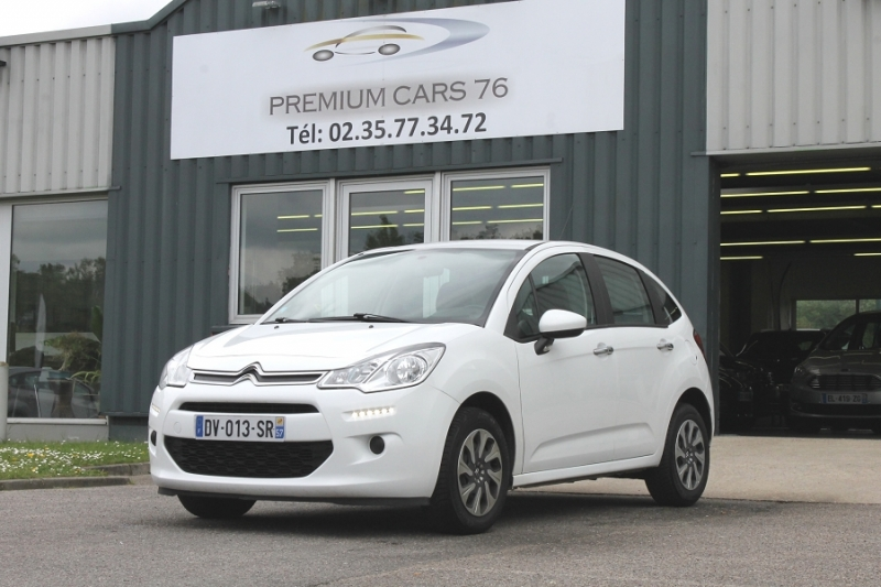 Photo 1 de l'offre de CITROEN C3 (2E GENERATION) II (2) 1.6 BLUEHDI 75 CONFORT à 7450€ chez Premium Cars 76