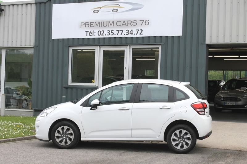 Photo 9 de l'offre de CITROEN C3 (2E GENERATION) II (2) 1.6 BLUEHDI 75 CONFORT à 7450€ chez Premium Cars 76