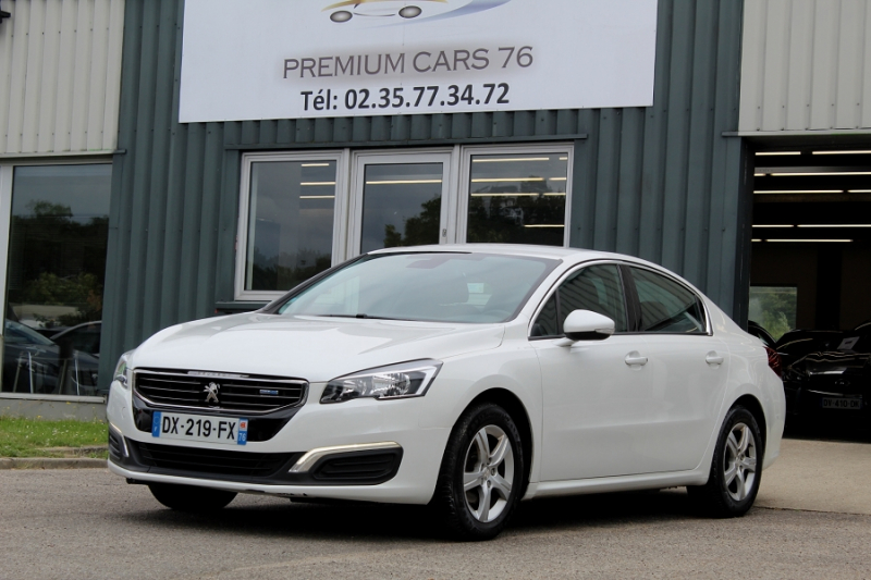 Peugeot 508 (2) 1.6 BLUEHDI 120 ACTIVE BUSINESS EAT6 Diesel BLANC Occasion à vendre