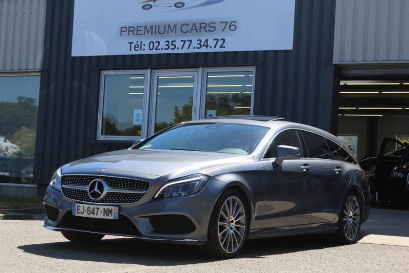 Mercedes CLASSE CLS 2 SHOOTING BRAKE II (2) SHOOTING BRAKE 250 D SPORTLINE Diesel GRIS Occasion à vendre
