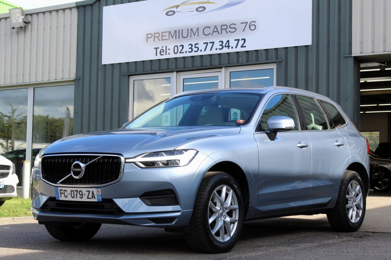 Volvo XC60 (2E GENERATION) II D4 190 ADBLUE BUSINESS EXECUTIVE GEARTRONIC 8 Essence BLEU CLAIR Occasion à vendre