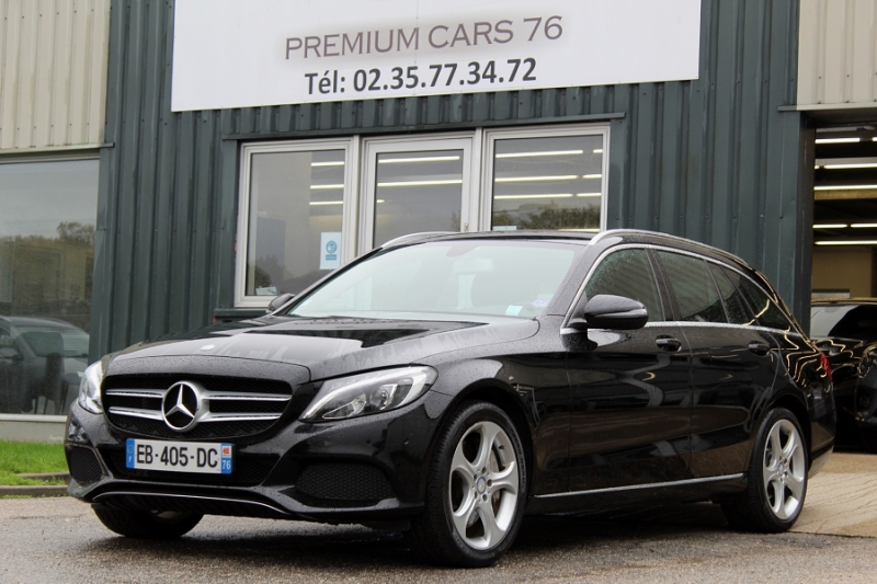Photo 1 de l'offre de MERCEDES-BENZ CLASSE C 4 SW C IV SW 350 E EXECUTIVE 7G-TRONIC à 27450€ chez Premium Cars 76